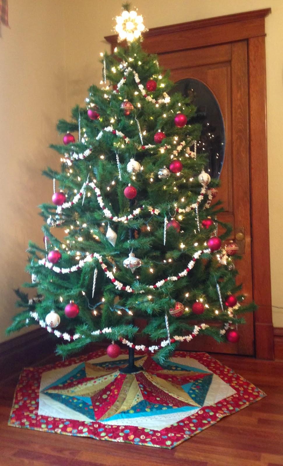 12 Days Of Christmas Tree Skirt