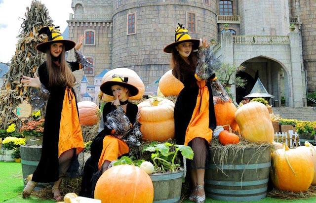 Halloween thần tiên tại Bà Nà Hills
