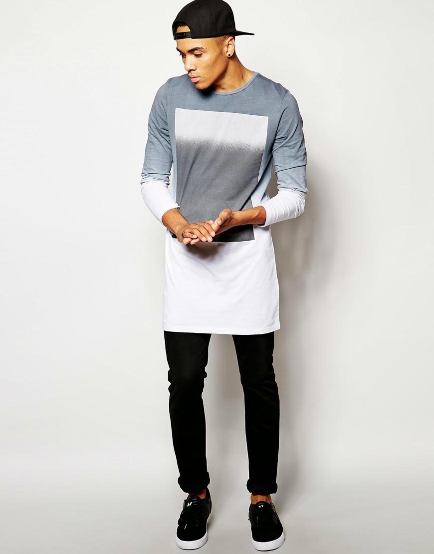 Mens Longline T Shirt