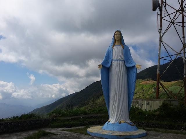 Mama Mary at Mt. Polis