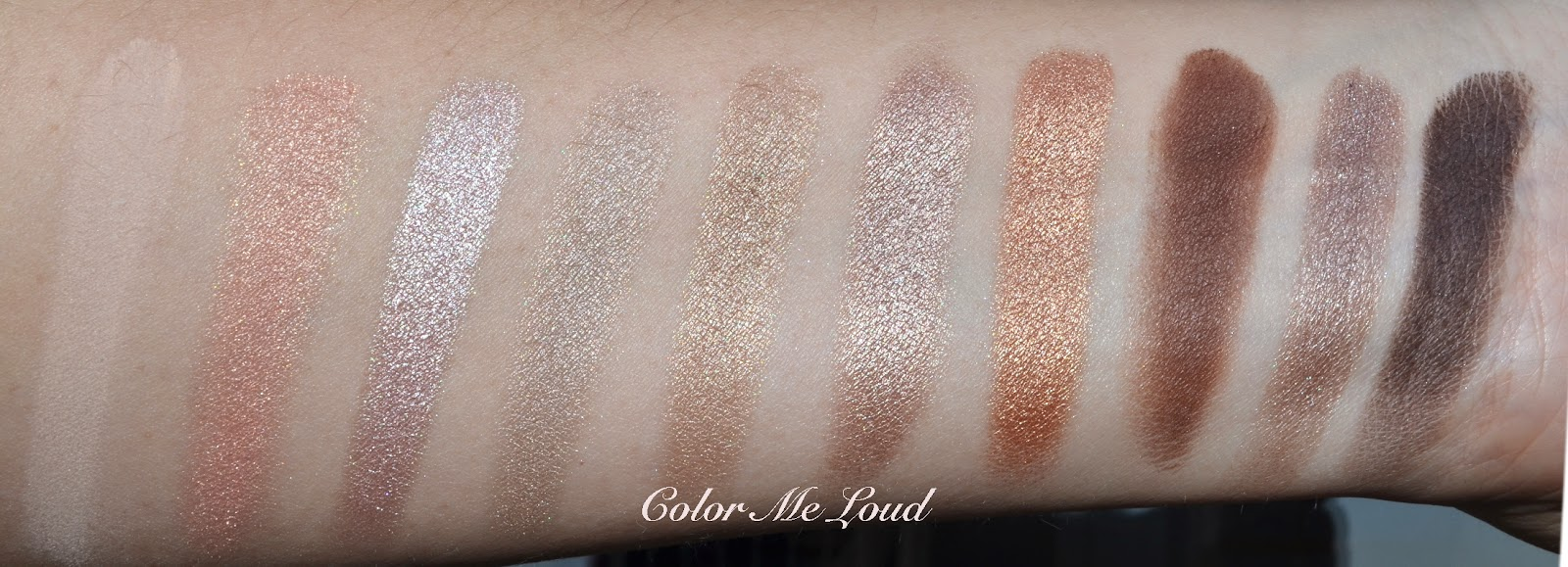 860829741a5 YSL Couture Variation 10-Color Eye Palette #1 Nu, Review, Swatch ...