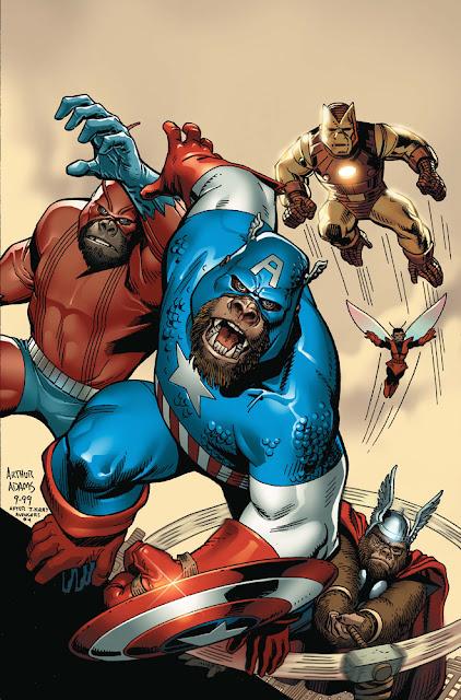Gorilla fumetti comics USA