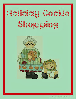 http://www.teacherspayteachers.com/Product/Holiday-Cookie-ShoppingMoney-CountingMaking-Change-Math-Center-164834