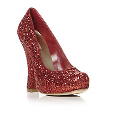 Dune Red Court Shoes
