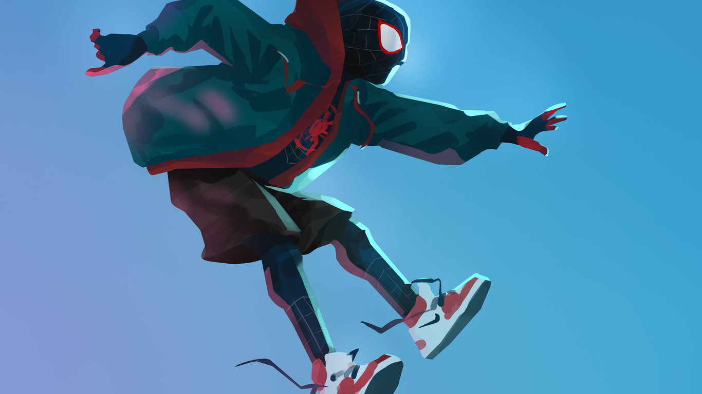 Into The Spider Verse X Wallpaper Iwallpaper: 40+ Spiderman Into The Spider Verse Wallpaper