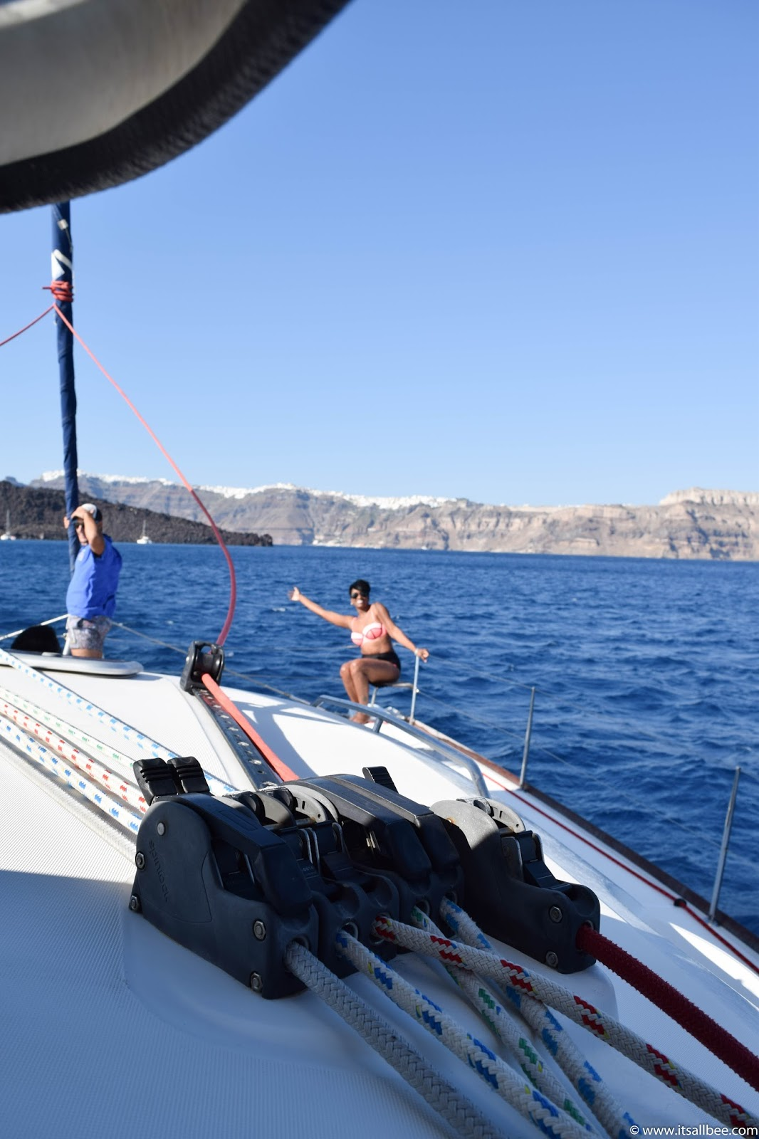 Sailing Greek Islands | sailboat tours in santorini
