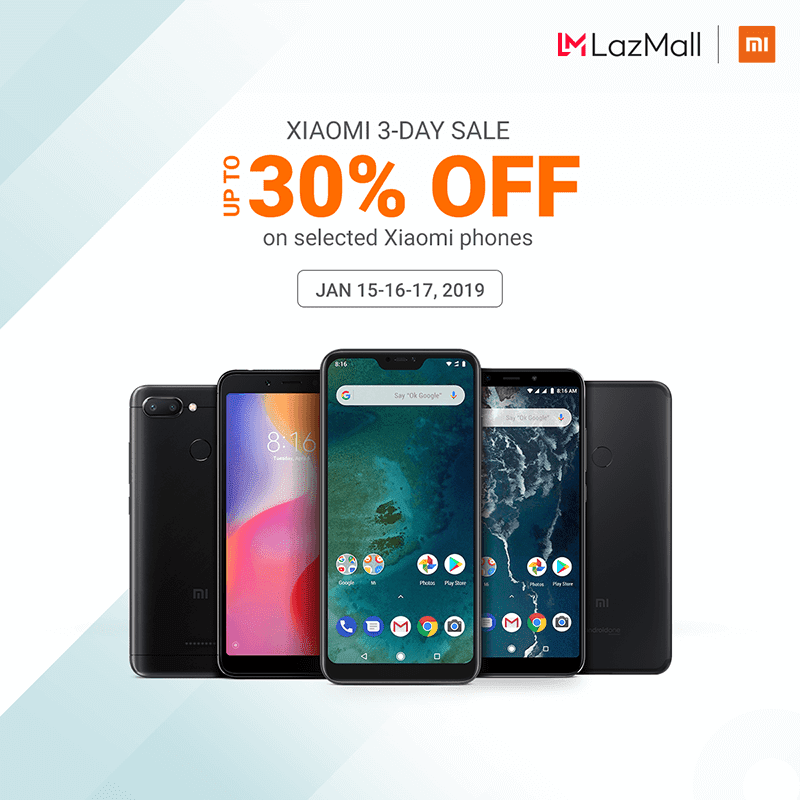 Sale Alert: Xiaomi to hold a 3-day sale on Jan 15 to 17!