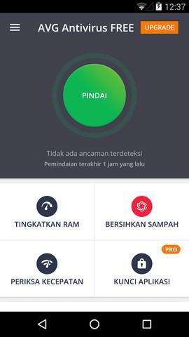 AVG Antivirus Gratis Untuk Android
