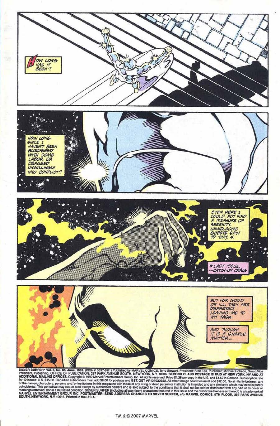 Silver Surfer (1987) issue 66 - Page 3