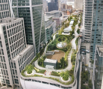 Transbay Center rooftop park