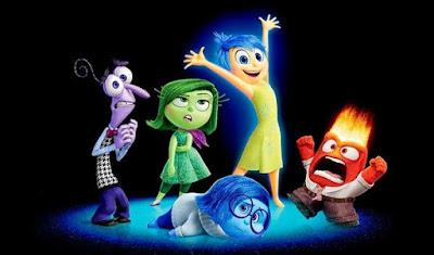 vice versa film d'animation dessin animé pixar personnages dans la tête de la fille avis critique cinématographique