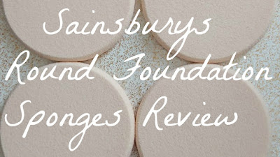 Sainsburys 4 Round Foundation Sponges Review