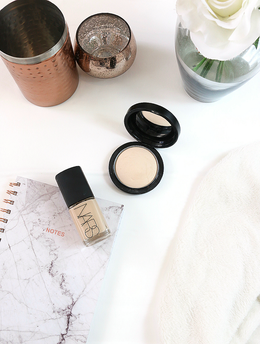 February Favourites including MAC Mineralize Skinfinish Natural & NARS Sheer Glow Foundation