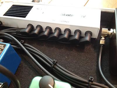 エフェクター 組み込み ボード 配線 自作ボード パワーサプライ