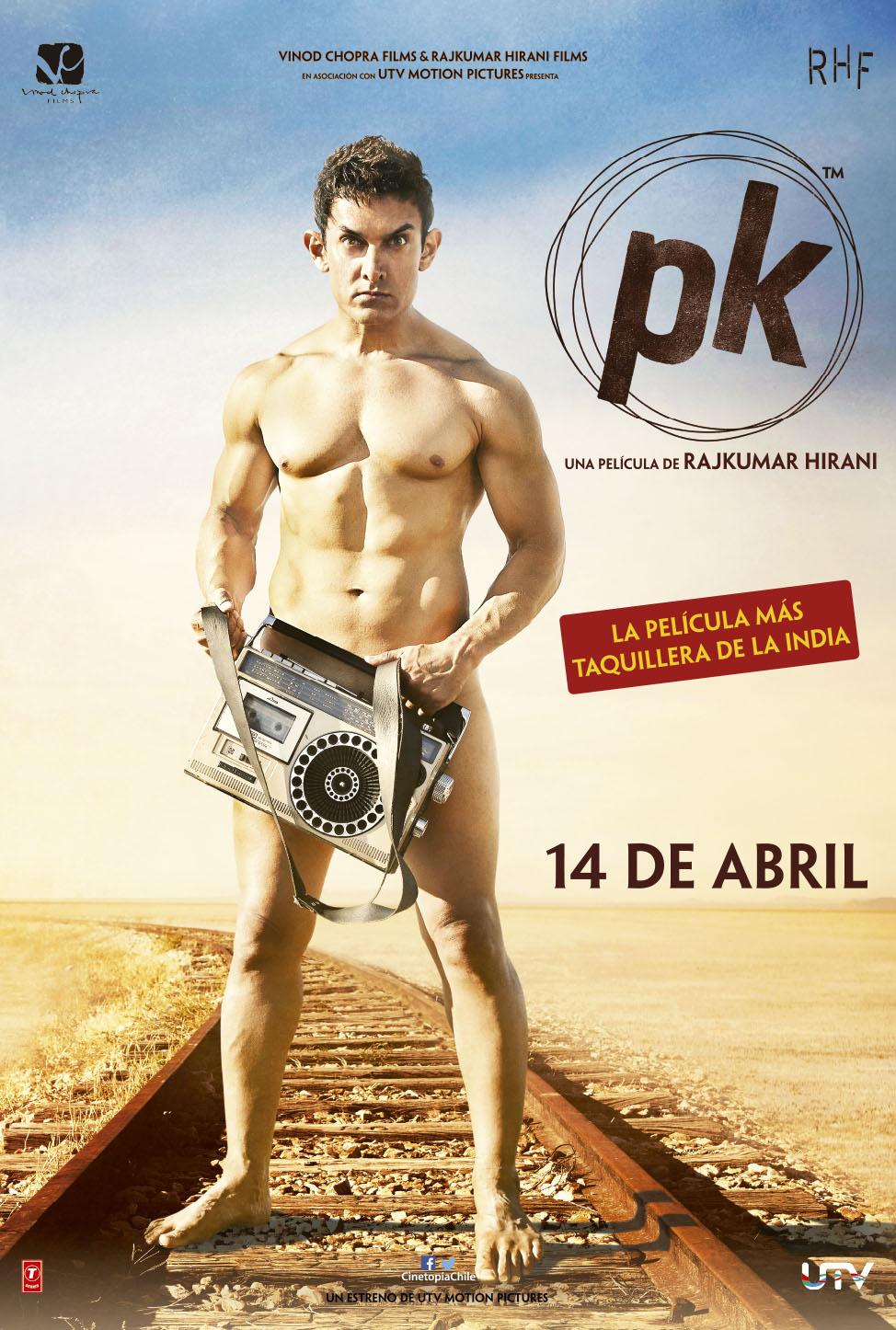 Bollywood llega a chile el 14 de abril con la pel cula pk for Fuera de este mundo pelicula