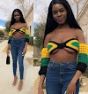 See how P**sy rapper Princess Vitarah stepped out for an appointment with her underboob on display. || Aruwaab9ja