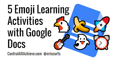 5 Emoji Learning Activities with Google Docs