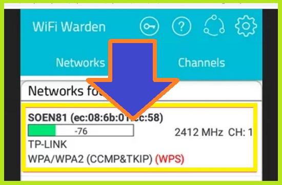 Aplikasi WiFi Warden Pembobol Wifi Yang Dikunci 2
