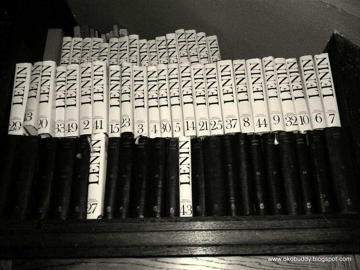 Dzieła Lenina. Biblioteka Zamku Czocha.