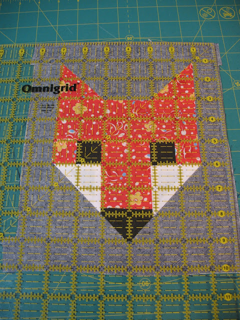 Fancy Fox quilt from Ye Olde Sweatshop