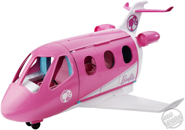 Toy Fair 2019 Mattel Barbie Travel dream Plane 39