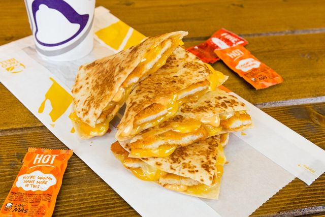 Taco Bell Releases New Crispy Chicken Quesadilla Brand Eating