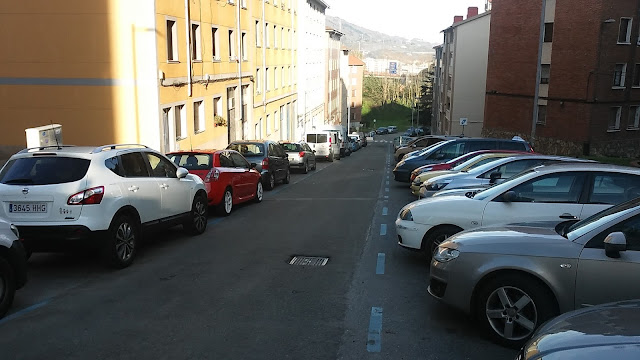 calle La Inmaculada en Cruces