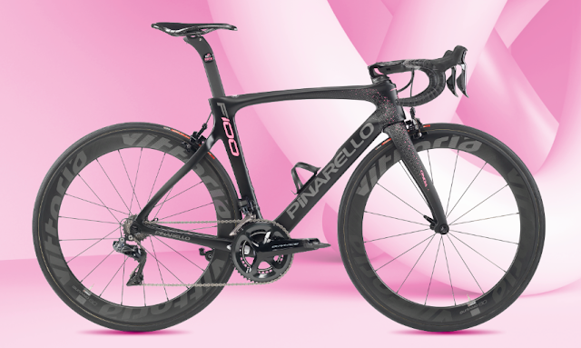 Pinarello nos sorprende con la F100, su bici Pro-Giro, que celebra el centenario de la carrera rosa