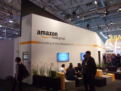 dmexco 2014: Der Amazon-Stand.