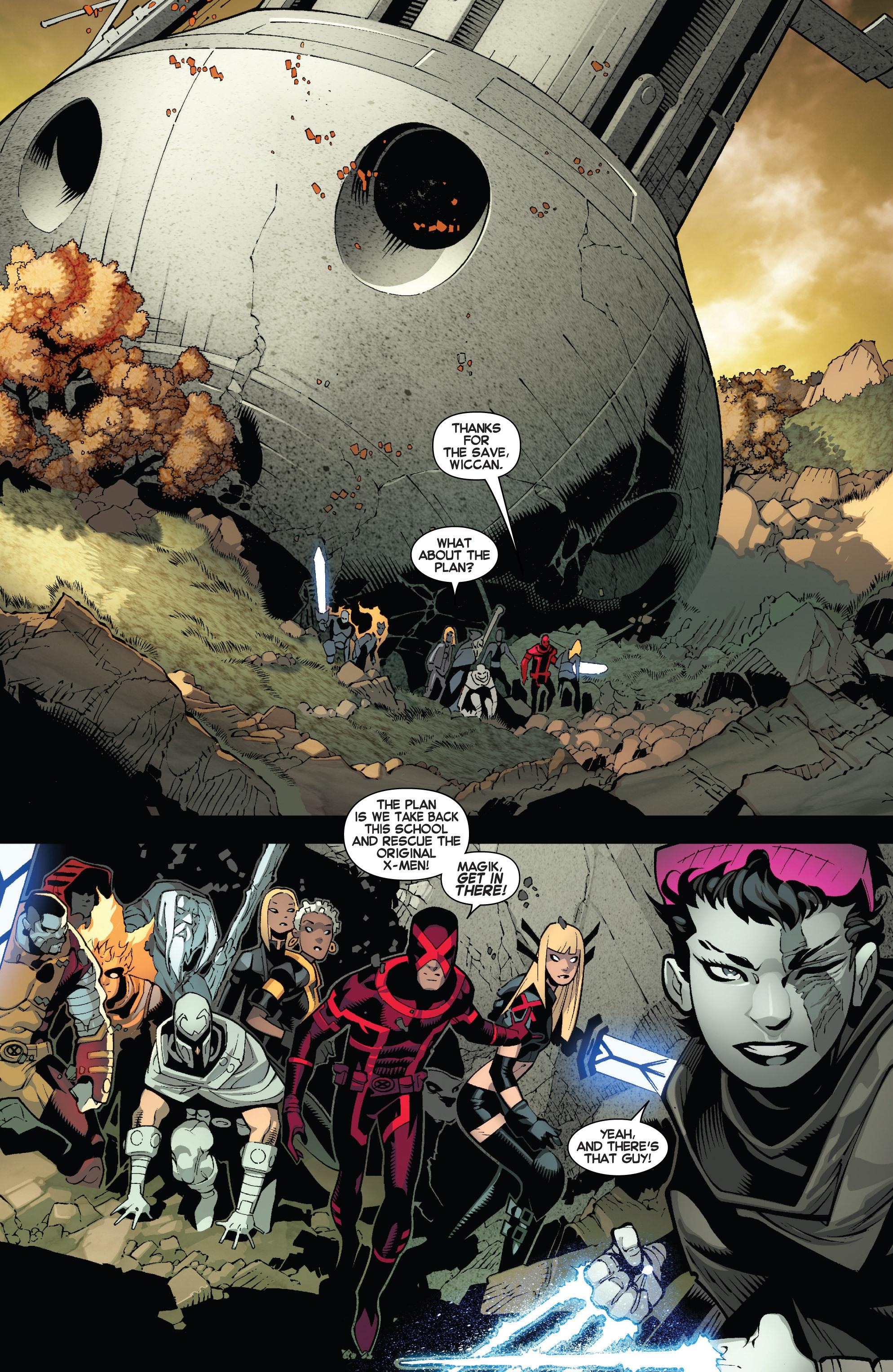 Read online Uncanny X-Men (2013) comic -  Issue #13 - 5