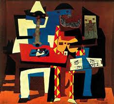 Los tres músicos, Picasso