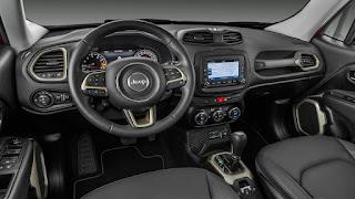 novo Jeep Renegade 2017 estreia novidades