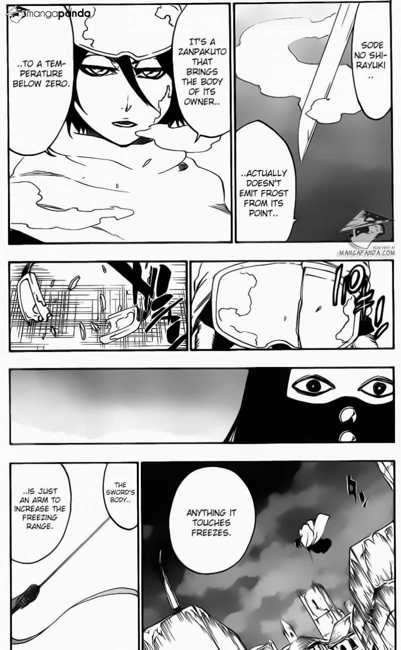 Bleach chapter 567 trang 13