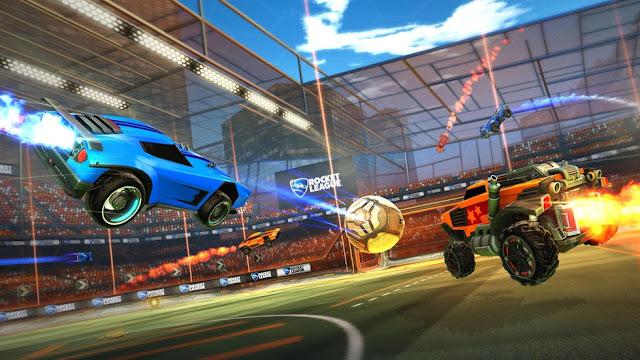 """""""Rocket League"""" Game thể thao siêu xe đá bóng 3D 2015"""