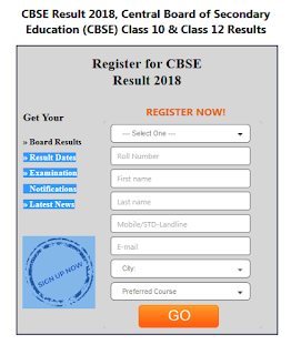 CBSE Board 12th class Result 2018