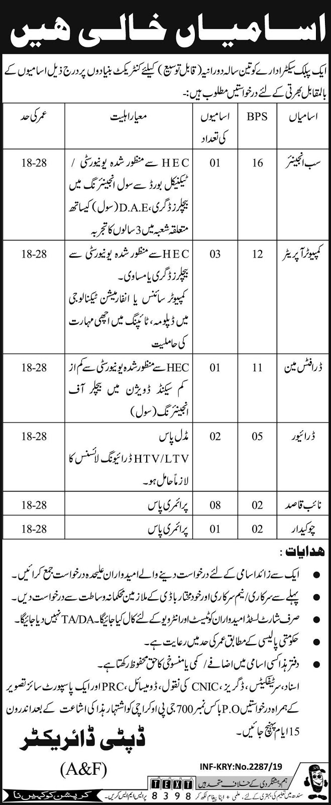 PAEC Jobs in Pakistan, Atomic Energy Commission Jobs, Computer