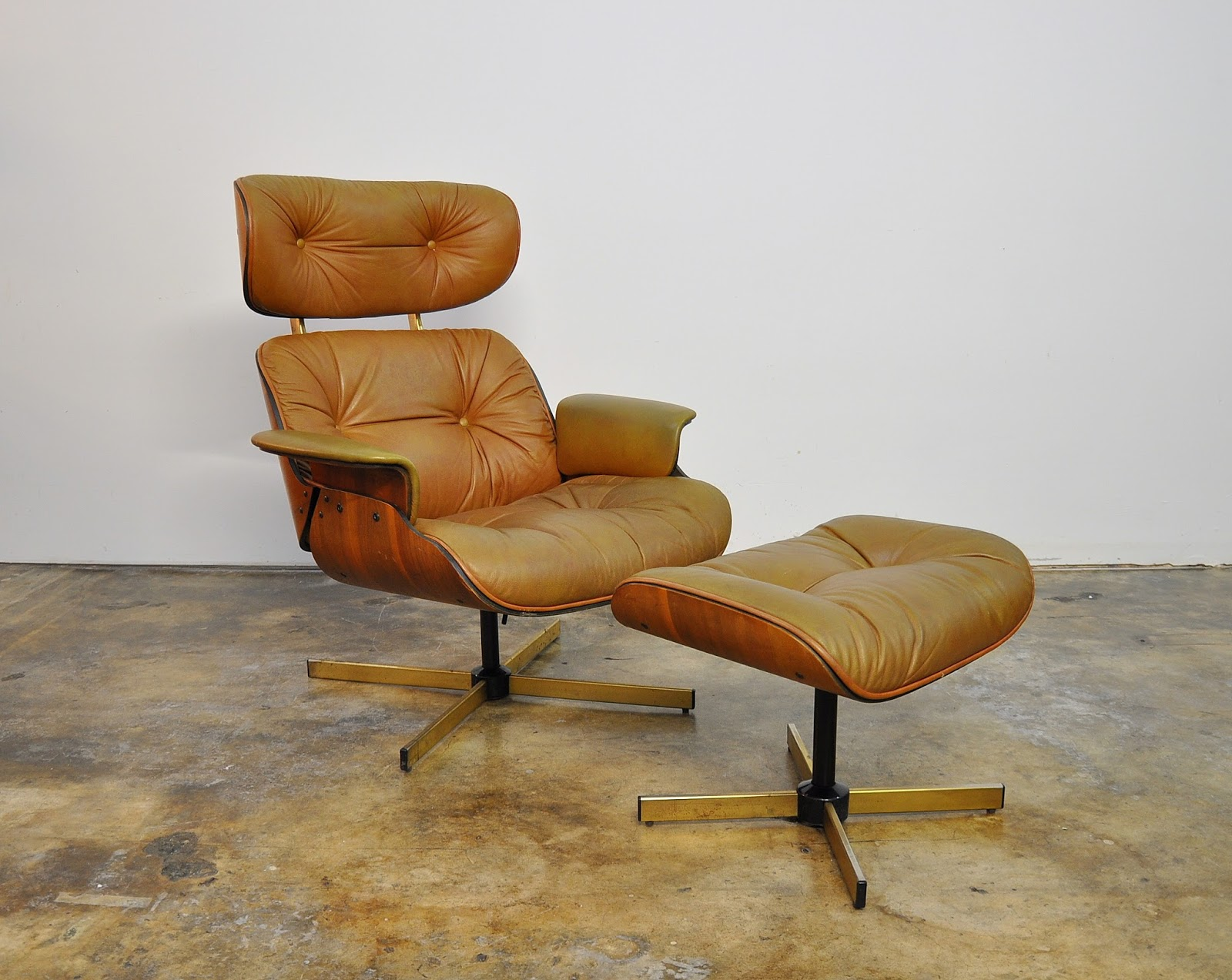 selig plycraft lounge chair parts desk uk sale select modern frank doerner eames style leather