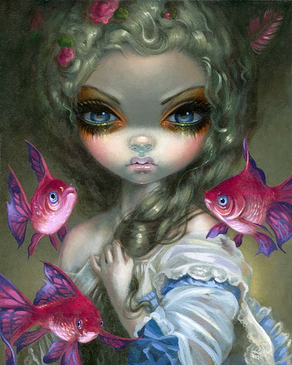 Poissons Volants: Les Poissons Roses by Jasmine Becket-Griffith