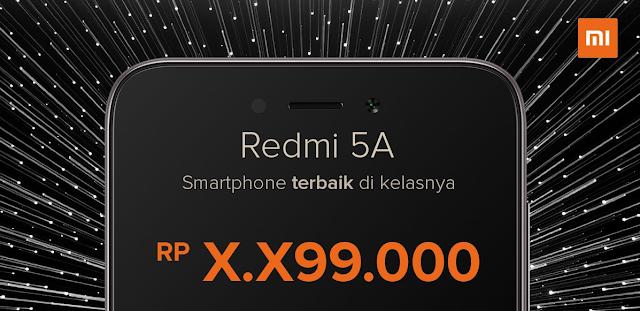 Intip Harga Xiaomi Redmi 5A di Indonesia, Rilis 20 Desember 2017