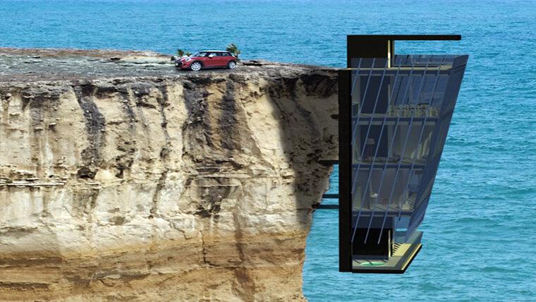 nha ben vach da cliff house