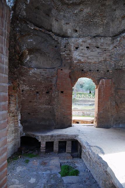 salle octogonale Villa Hadriana