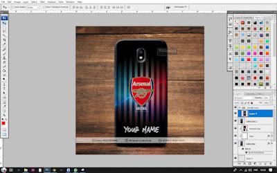 Cara Membuat Mockup Case Samsung J5 Pro