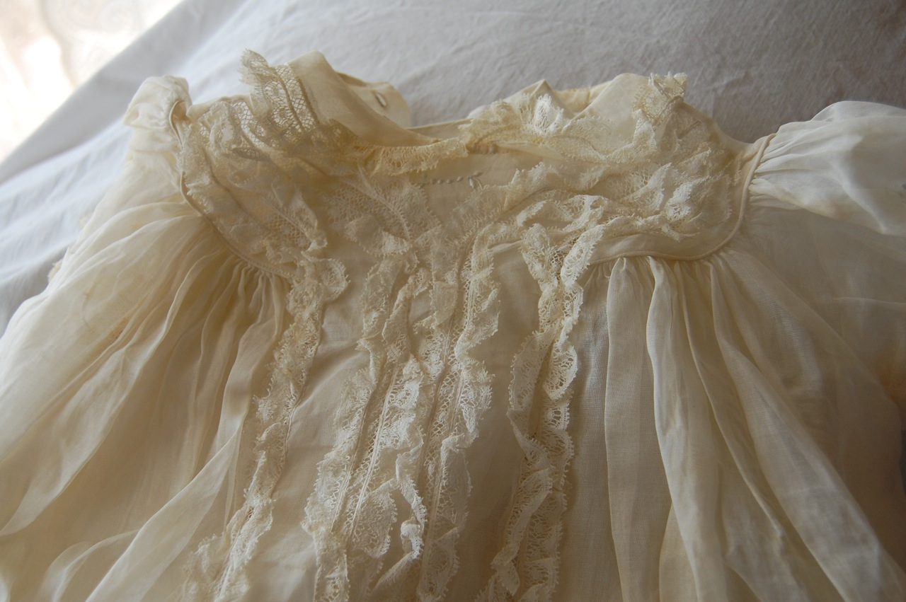The Old Fashioned Baby Sewing Room Vintage Christening Gown