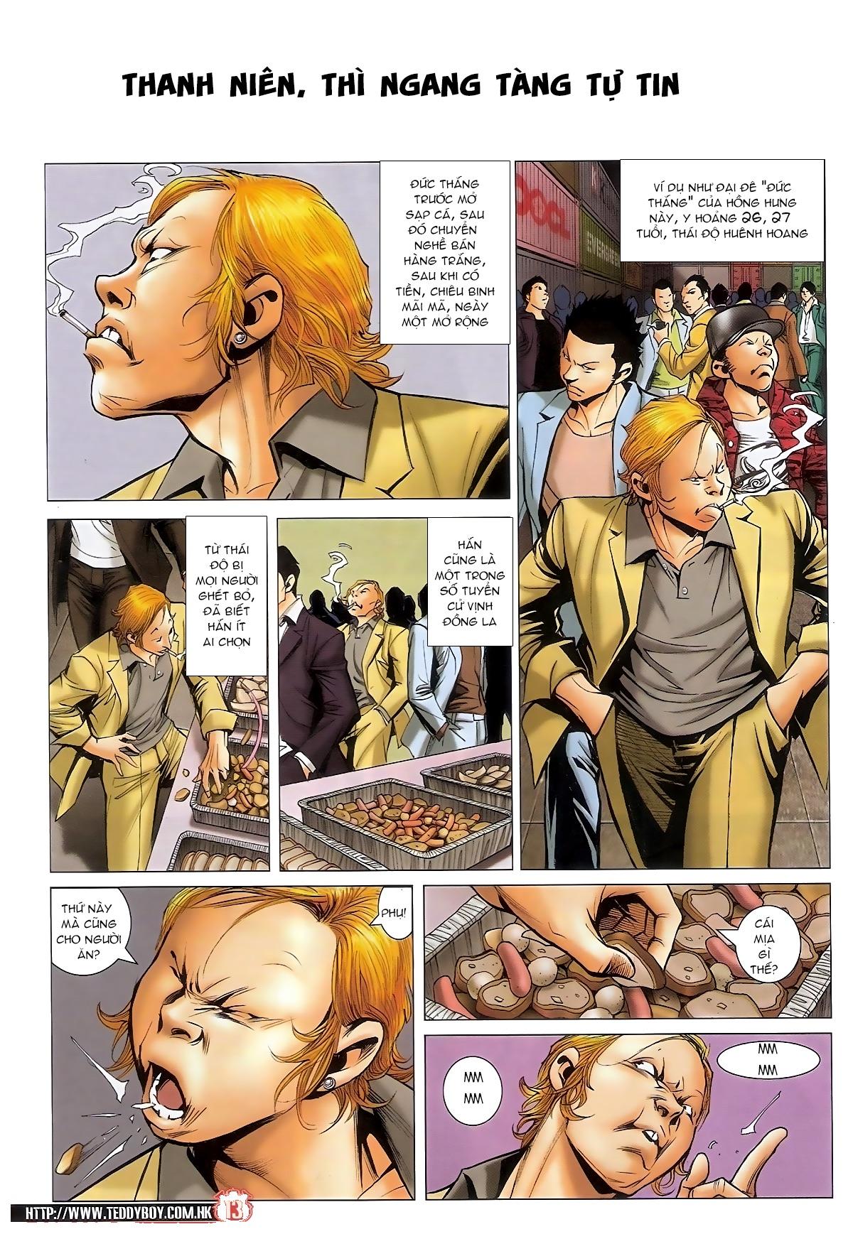 Người Trong Giang Hồ - Chapter 1561: Lòng người theo về - Pic 10