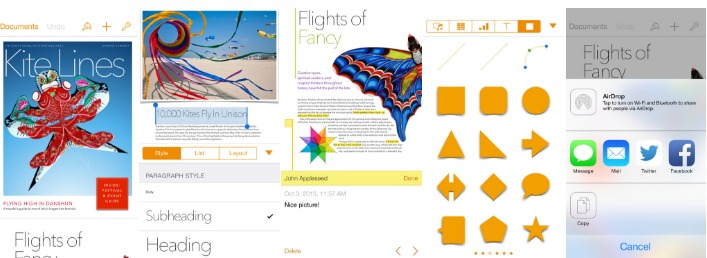 apple apps page