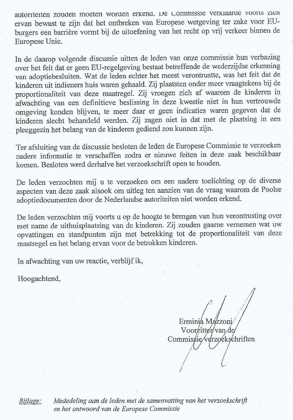 voorbeeldbrief opvragen dossier JeugdzDark horse   Archief: Nederland handelt in strijd met  voorbeeldbrief opvragen dossier