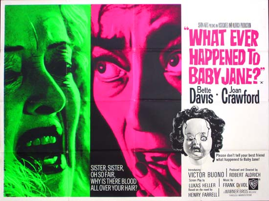 What Ever Happened to Baby Jane? 1962 (Gif) | BlueisKewl