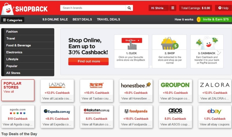 shopback online shopping voucher codes groupon