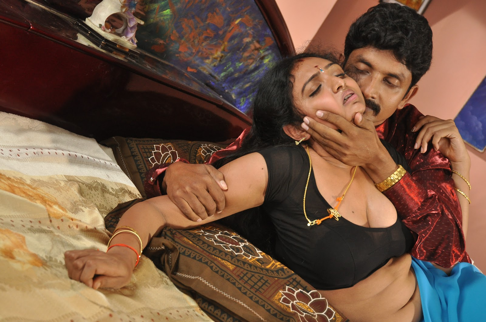 Very hot tamil sax photo