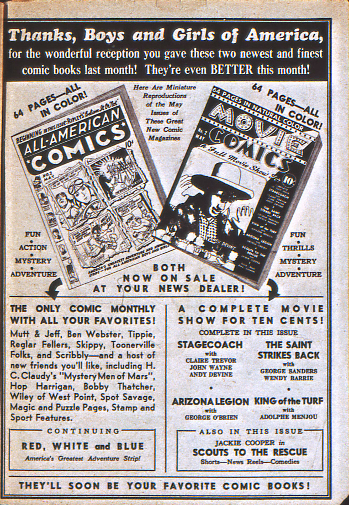 Read online Action Comics (1938) comic -  Issue #12 - 68